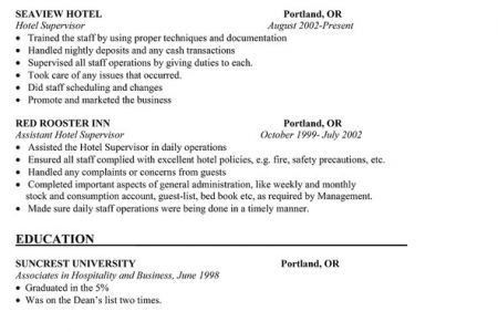Housekeeping Supervisor Resume Sample RESUMES DESIGN, Cleaning ...