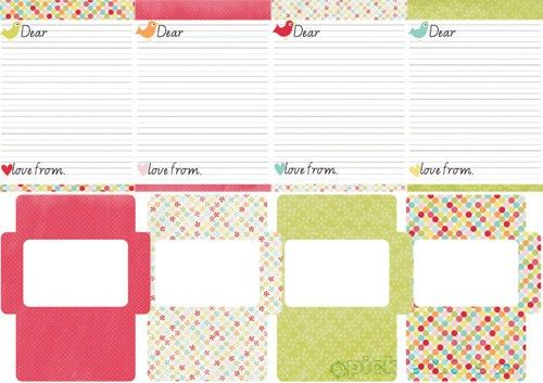 Printable Kids Letter Writing Set - Picklebums