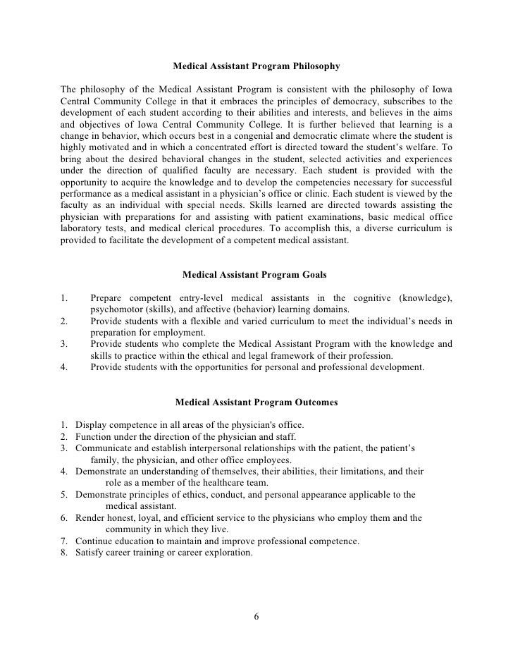 Medical Assistant Handbook (.doc)