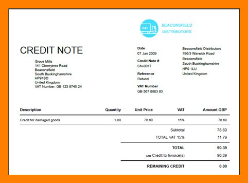 9+ credit note format | producer resume