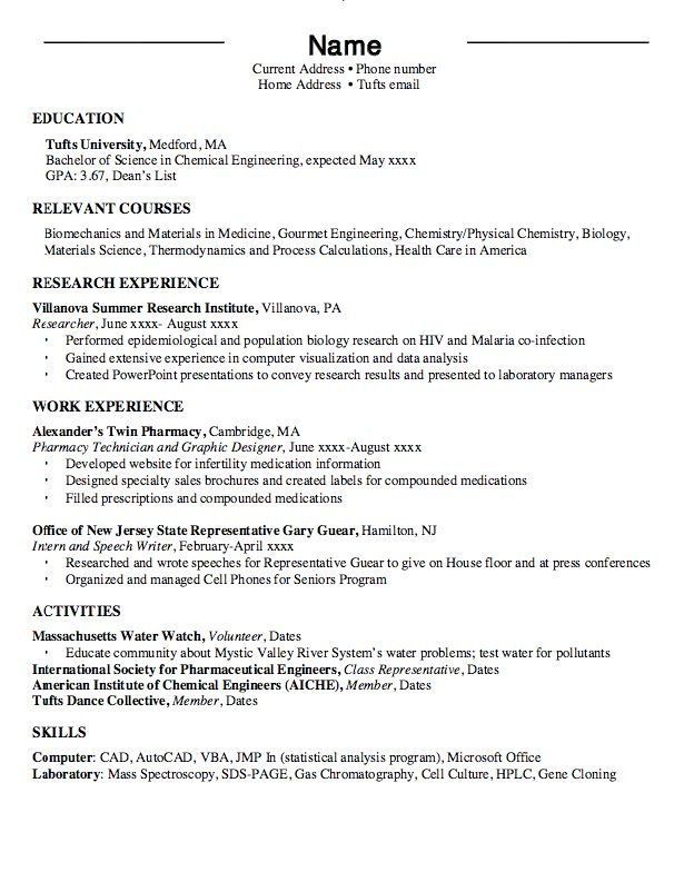 Writing Tips & Resume Sample - RESUMEDOC