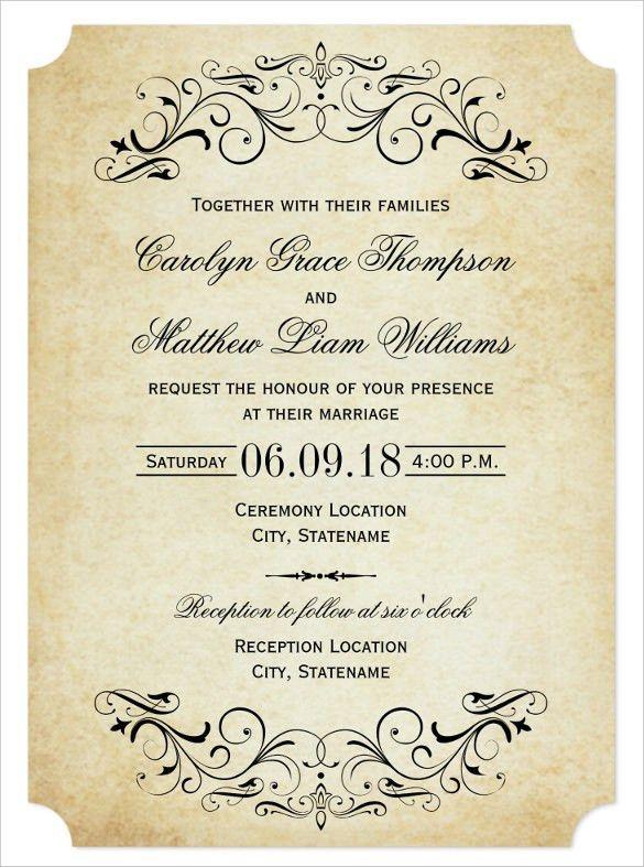 Wedding Invitation Wording - marialonghi.Com