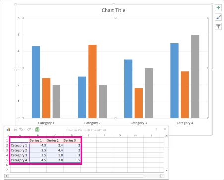 Use charts and graphs in your presentation - PowerPoint
