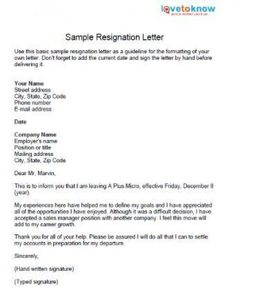 teacher resignation letter to parents resumes to working well as ...