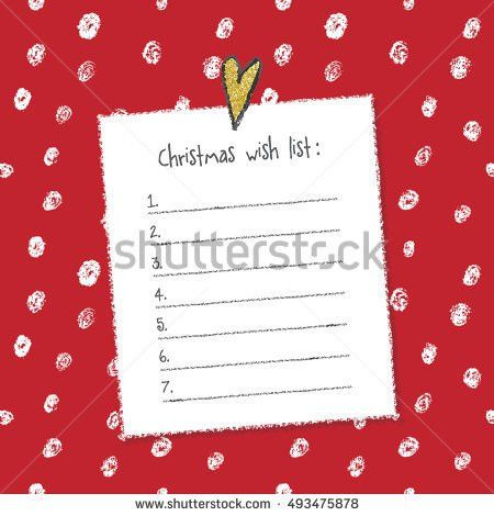 Wish List Stock Images, Royalty-Free Images & Vectors | Shutterstock