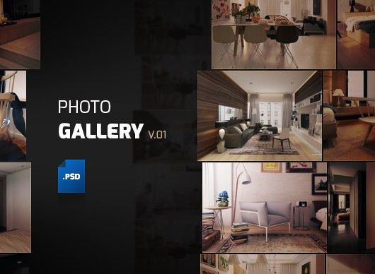 Album Gallery Template (Psd)