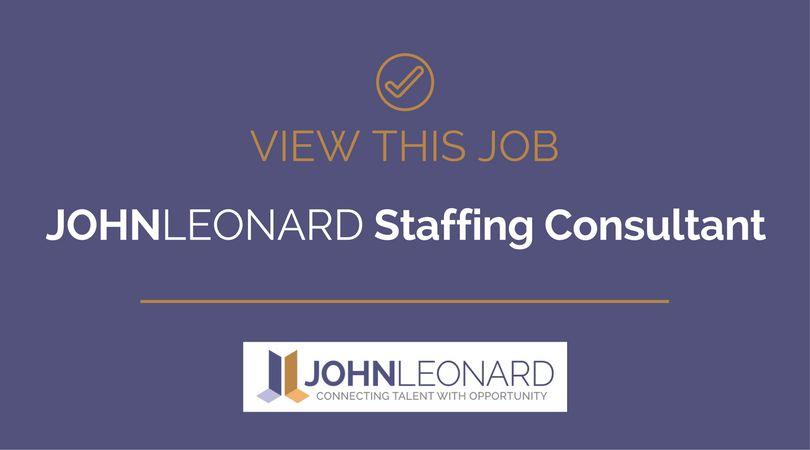 Staffing Consultant #25384