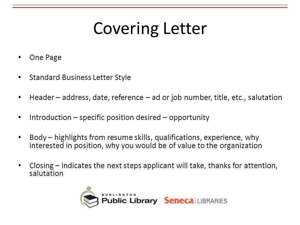 Best Practices for Resumes and Cover Letters - ppt video online ...