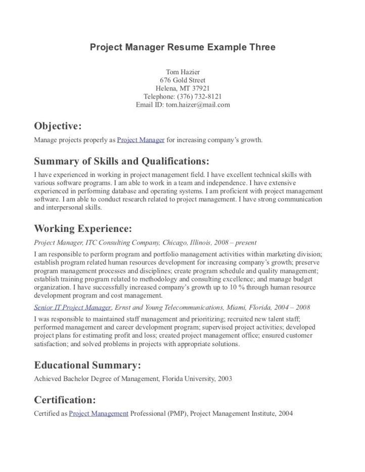 great objective statements for resumes