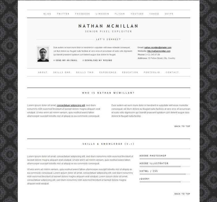 the resume template that will get you job you want designolymp ...