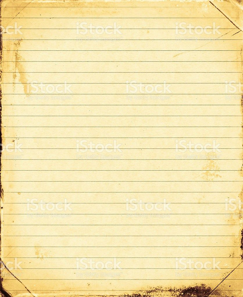 Lined Paper Yellow Paper Document Pictures, Images and Stock ...