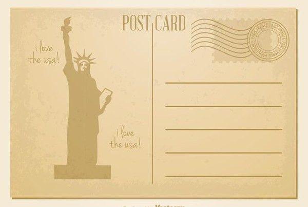 7+ Vintage Postcard Templates - Free PSD, AI, Vector EPS Format ...