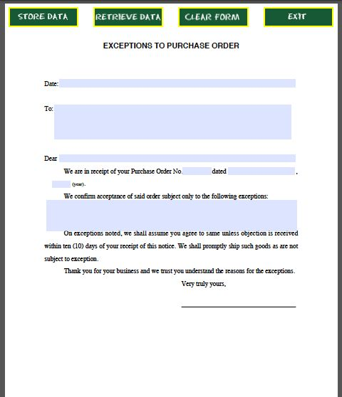 Request Letter For Purchase Order Pdf | Professional resumes ...