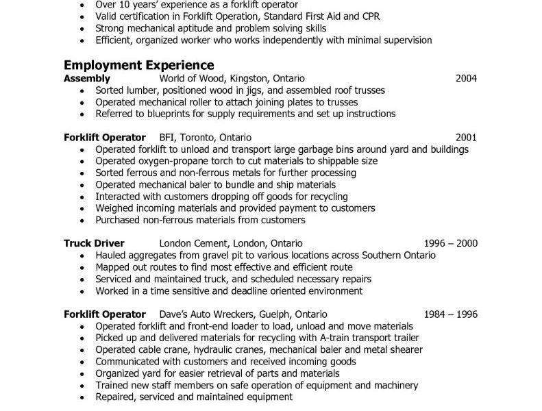 Warehouse Resume Sample | haadyaooverbayresort.com