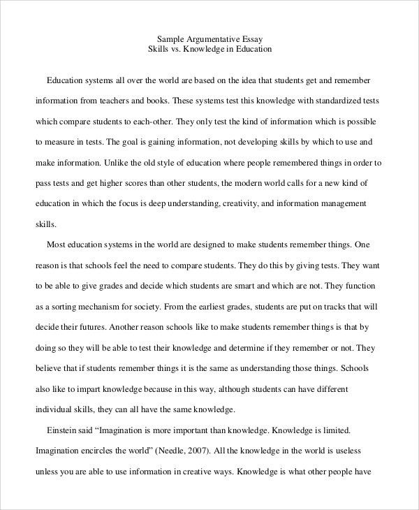 short argumentative essay example book report cover sheet sample ...