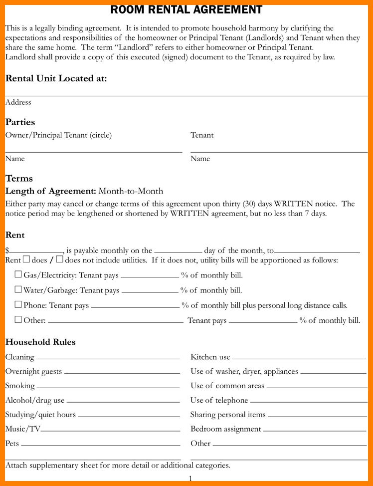 10+ house rental agreement template | assembly resume