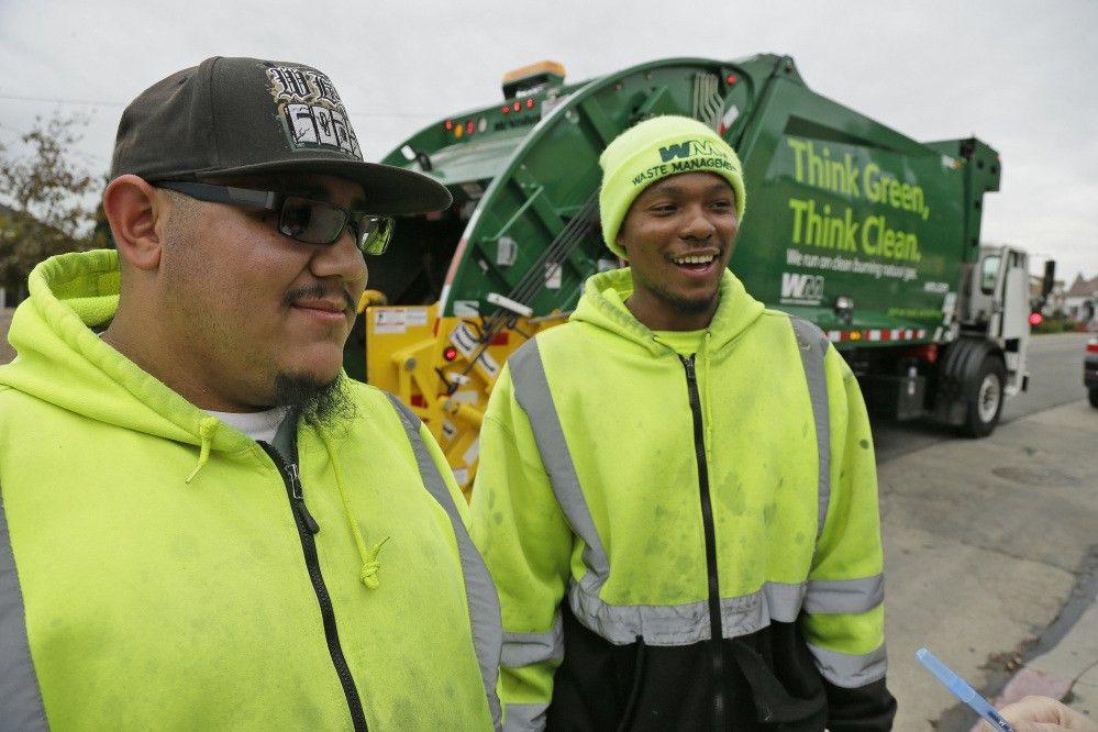 Program trains young garbage collectors amid U.S. shortage ...