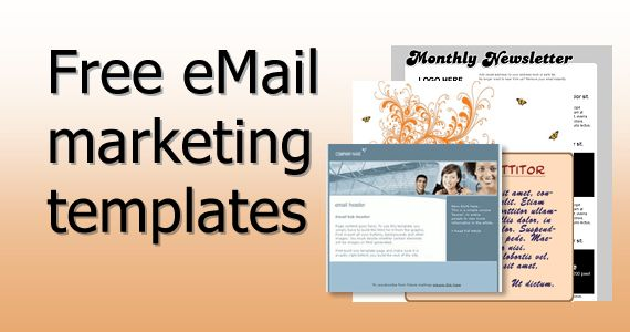Free eMail marketing templates | Email Marketing