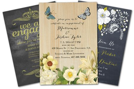 Email Online Engagement Party Invitations that WOW! | Greenvelope.com