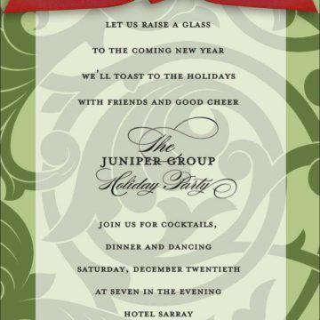 Enticing Corporate Dinner Party Invitation E-Card Template Design ...