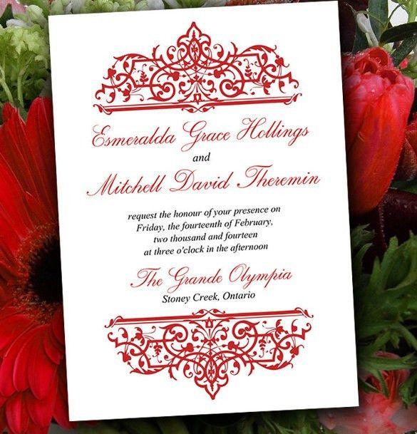 20+ Formal Invitation Templates – Free Sample, Example, Format ...