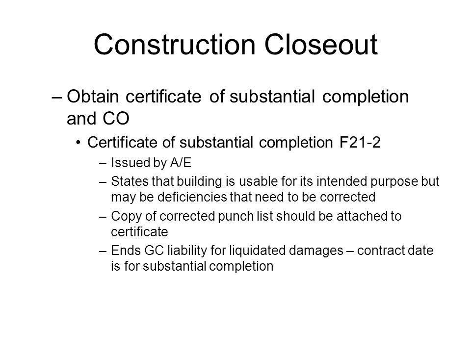 Project Close Out CTC ppt video online download