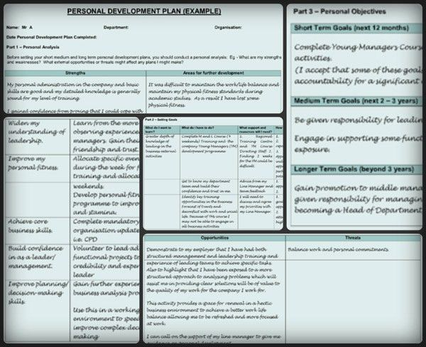 Personal Development Plan Template – 9 Free Samples in PDF, Word ...