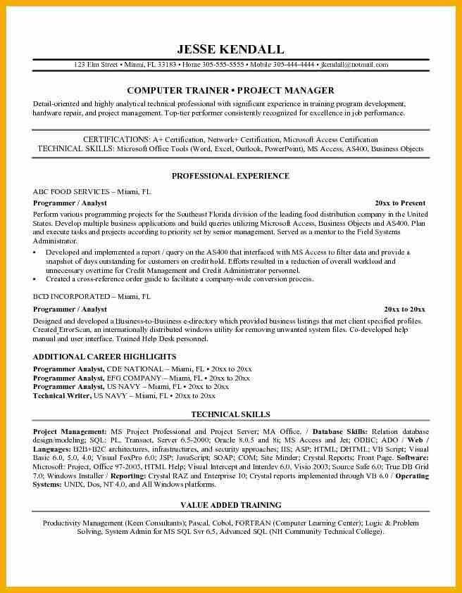 10+ programmer resume | bursary cover letter