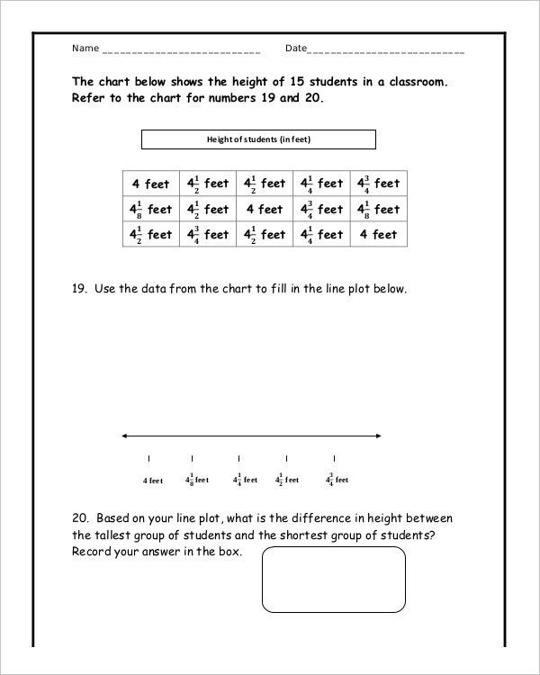 10+ Common Core Math Sheets – Free Sample, Example Format Download ...