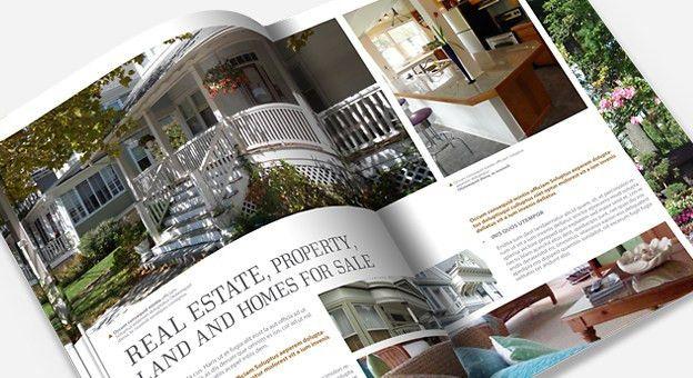 Real Estate Brochure Template | Brochures/Editorial Design ...
