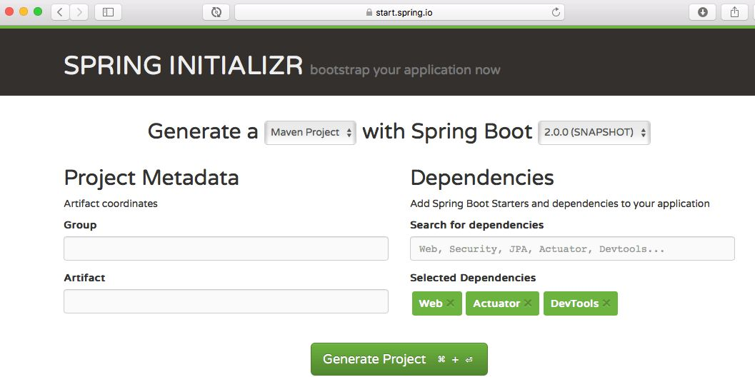 Creating a Web Application with Spring Boot – Spring Boot Tutorial