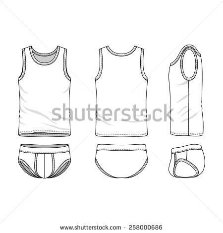 Front Back Side Views Womens Clothing Stock Vector 319677659 ...
