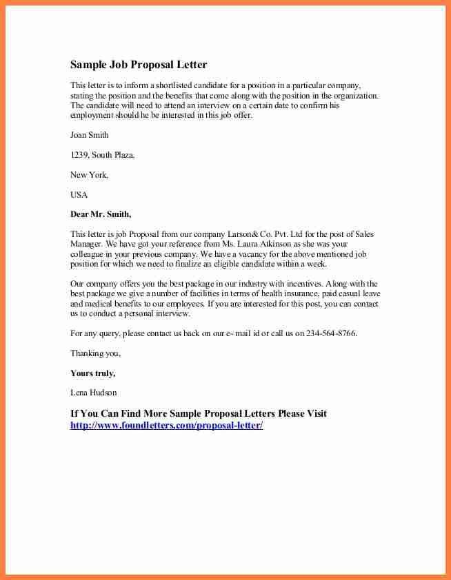 Job Proposal Template. Business Proposal Template 05 30+ Business ...