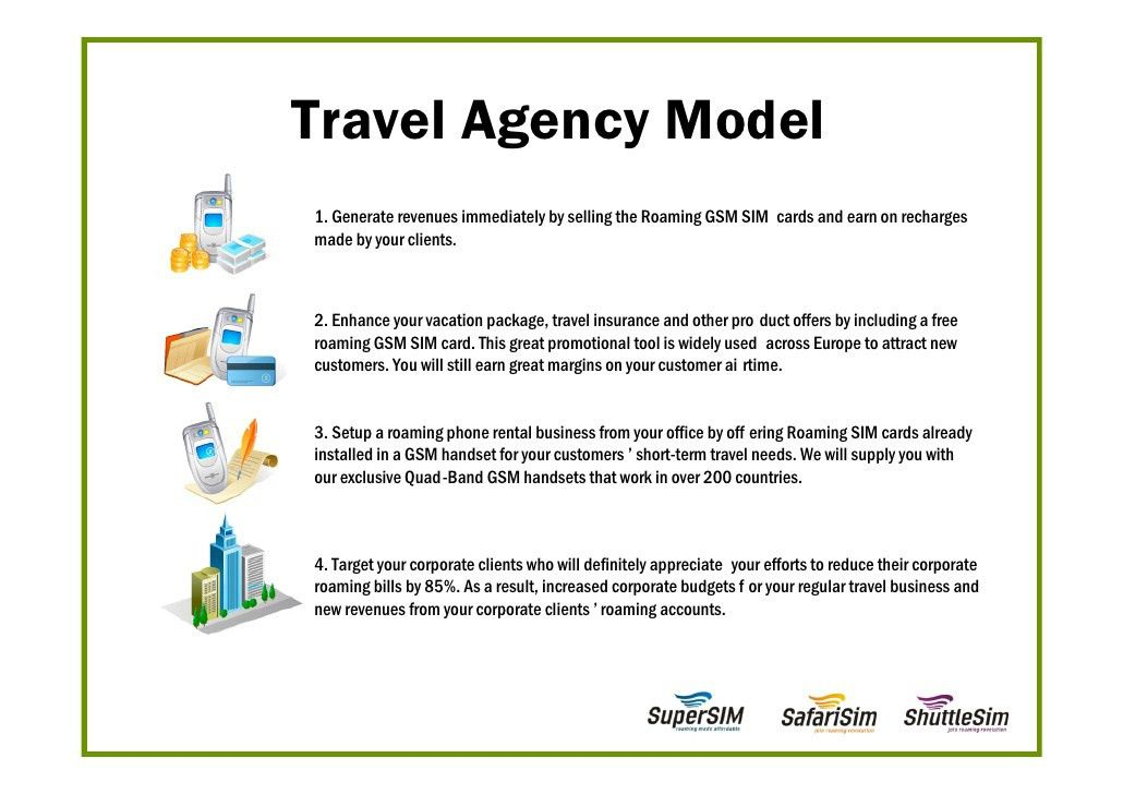 Business Proposal For Travel Agencies