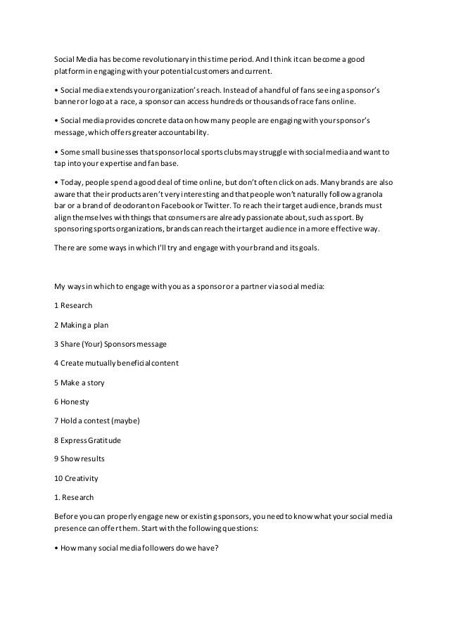 Sponsorship Letter (Improved)