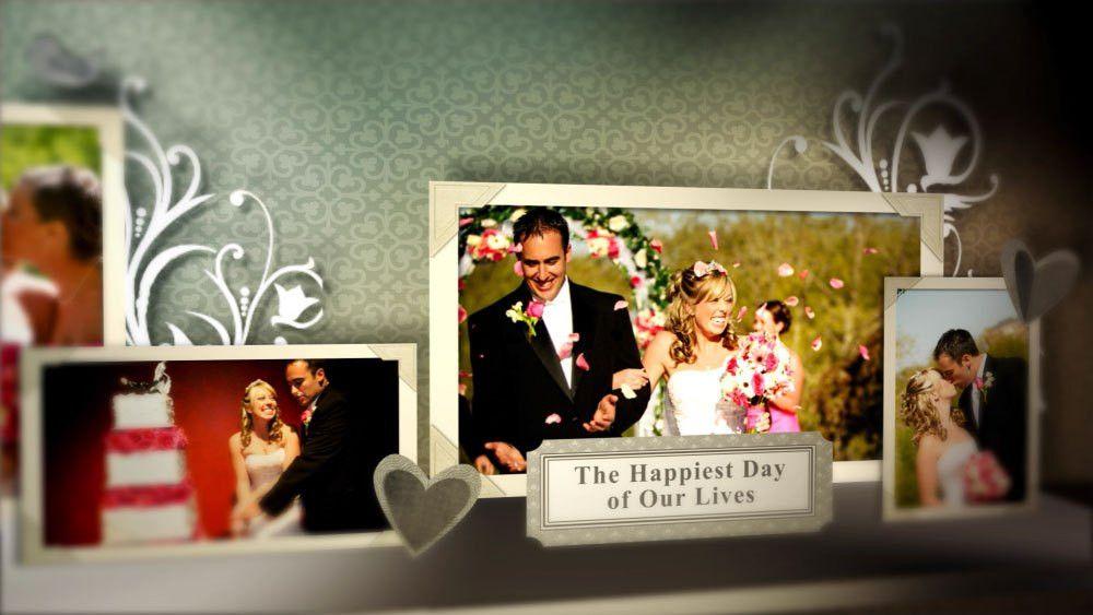 Wedding Pop Up Book After Effects template - FluxVFX