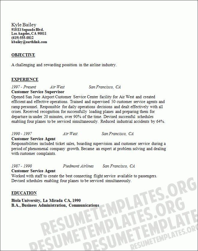 Ramp Agent Resume Top 8 Airline Ramp Agent Resume Samples 1