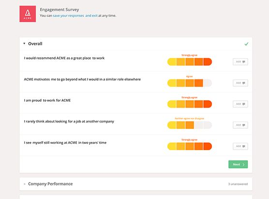 Employee Engagement Reviews and Pricing - 2017