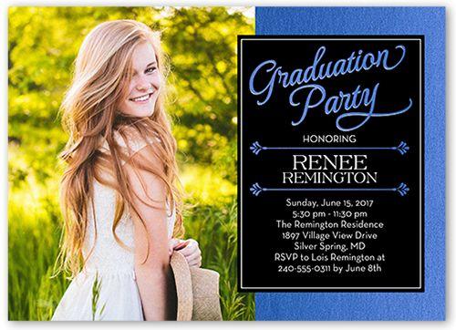 Graduation Invitations Templates   Shutterfly