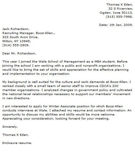 Student Cover Letter Examples - Cover Letter Now