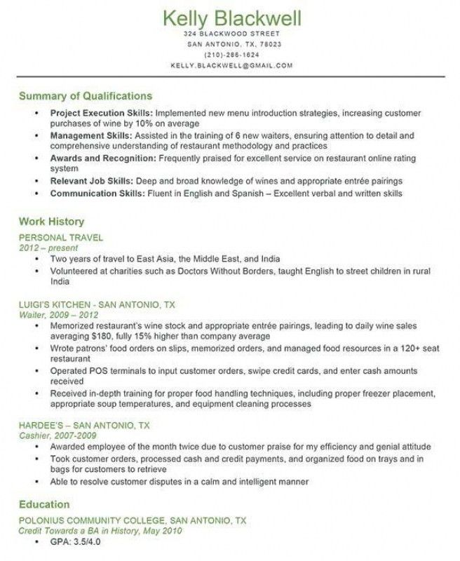 Good Summary For Resumes. example of a good summary design resume ...