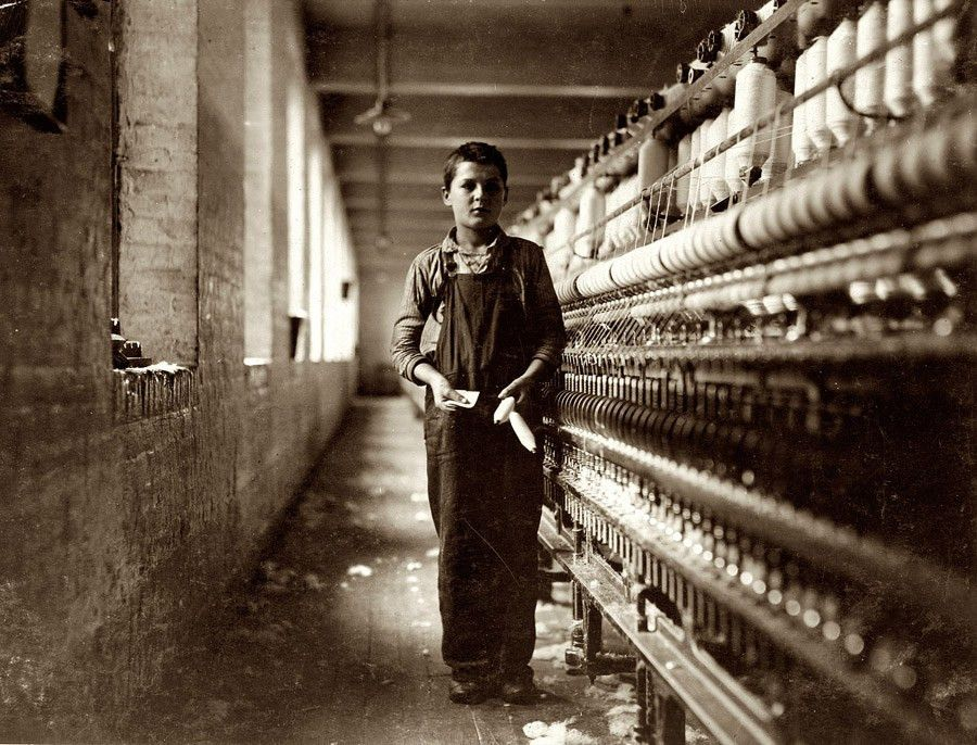 In the early 1900's Lewis Hine used Pathos to bring pity and ...