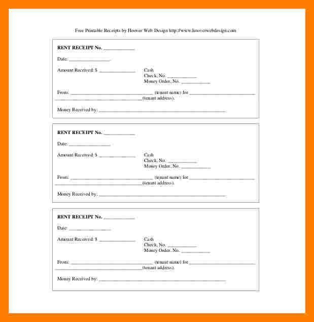 5+ free printable rent receipts | teller resume