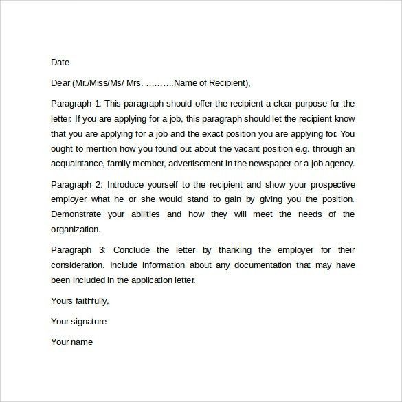 Cover Letters Format Example Cover Letter For Clerk Application