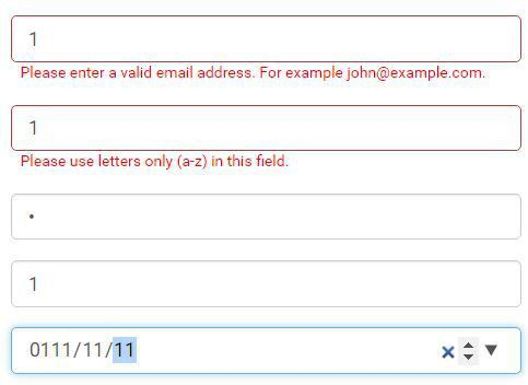 Easy HTML5 Form Validation Plugin For Bootstrap - Valid8 | Free ...