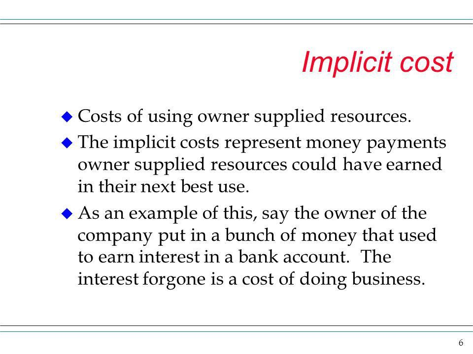 Production, Cost and Profit - ppt download