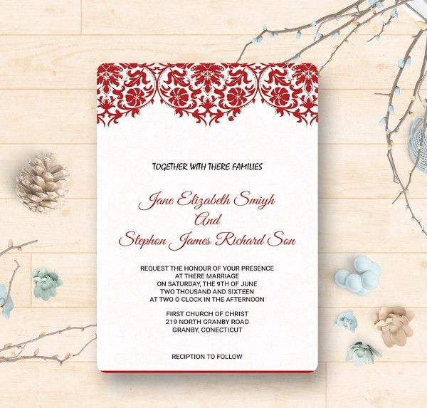32+ Wedding Invitation Templates - Free PSD, Vector AI, EPS Format ...