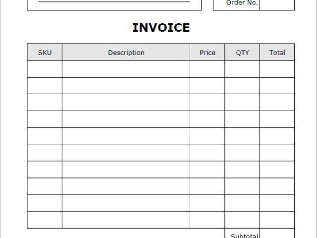 Occupyhistoryus Wonderful Custom Invoice Forms Printitlesscom With ...