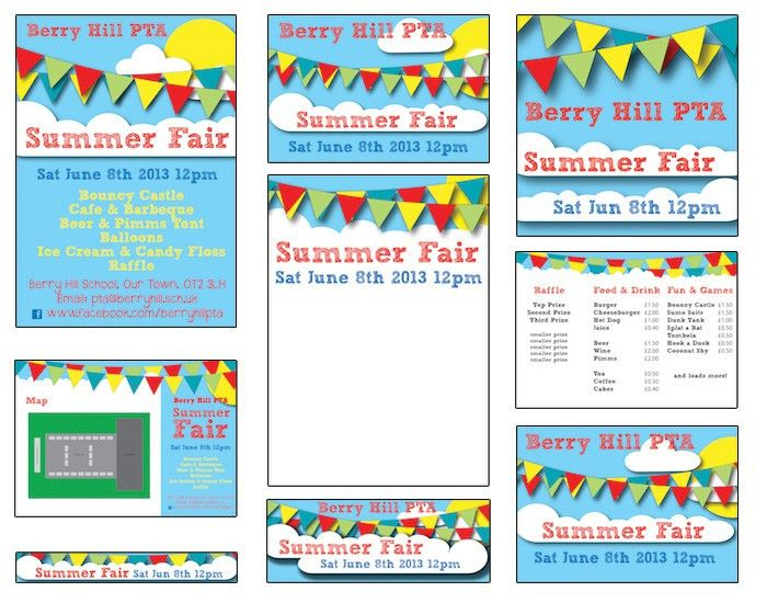 Summer Fair - Published PTA Templates and Poster Kits | PTA ...