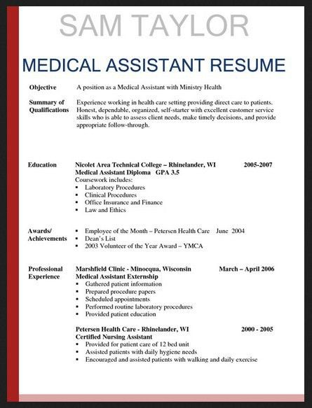 medical assistant externship experience essay